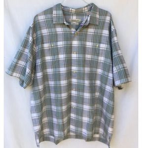 NWT Tommy Bahama Short Sleeve Button Up Shirt